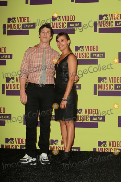 Andy Sandberg Photo - 6 September 2012 - Los Angeles California - Andy Sandberg and Rashida Jones 2012 MTV Video Music Awards held at Staples Center Photo Credit Kevan BrooksAdMedia