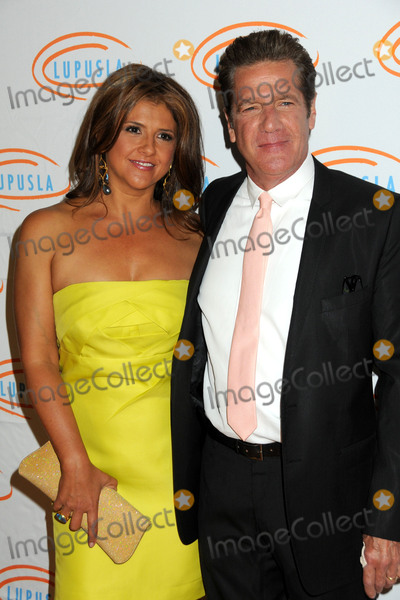 Glenn Frey Photo - 18 January 2016 - Glenn Frey guitarist and co-founder of the Eagles has died at the age of 67 File Photo 6 May 2010 - Beverly Hills California - Glenn Frey and wife Cindy Lupus LA Orange Ball 2010 held at the Beverly Wilshire Hotel Photo Credit Byron PurvisAdMedia