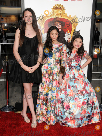 Aleandra Newcomb Photo - 28 March 2016 - Westwood California - Presley Coley Aleandra Newcomb Elise Newcomb The Boss Los Angeles Premiere held at the Regency Village Theatre Photo Credit Byron PurvisAdMedia