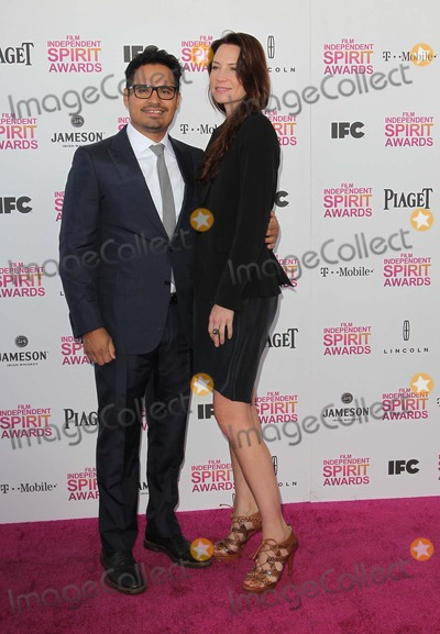 Michael Pena Photo - 23 February 2013 - Santa Monica California - Brie Shaffer Michael Pena 2013 Film Independent Spirit Awards - Arrivals  Held At Santa Monica Beach Photo Credit Faye SadouAdMedia
