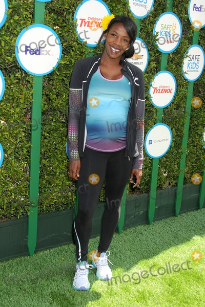 Alysia Montano Photo - 05 April 2014 - Hollywood California - Alysia Montano 2nd Annual Safe Kids Day held at The Lot Photo Credit Byron PurvisAdMedia