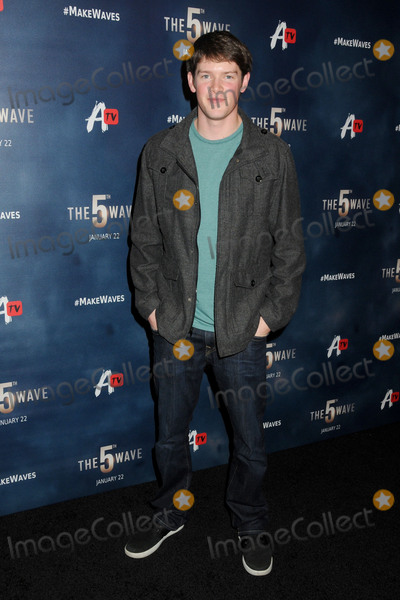 Alex MacNicoll Photo - 14 January 2016 - Los Angeles California - Alex MacNicoll The 5th Wave Los Angeles Premiere held at Pacific Theatres At The Grove Photo Credit Byron PurvisAdMedia