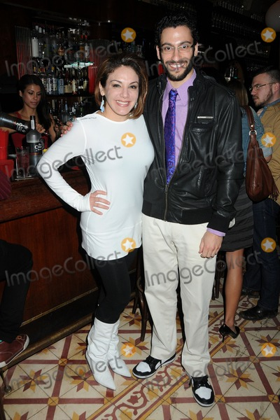 Adam Tsekhman Photo - 27 January 2011 - Hollywood California - Jill-Michele Melean and Adam Tsekhman Adventures of Power DVD Launch and Charity Auction Benefiting VH1s Save The Music Foundation held at Bar Lubitsch Photo Byron PurvisAdMedia
