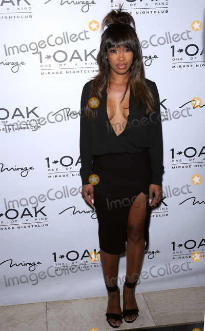 Malika Haqq Photo - 27 May 2016 - Las Vegas Nevada - Malika Haqq  Scott Disick celebrates his birthday at 1OAK Nightclub inside The Mirage Photo Credit MJTAdMedia