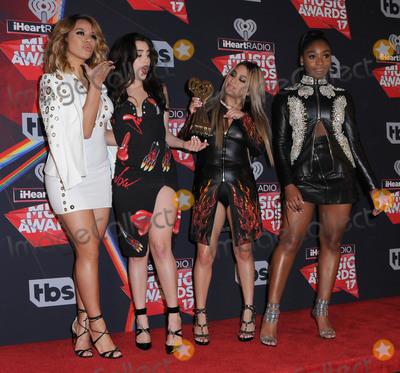 Fifth Harmony Photo - 05 March 2017 - Inglewood California - Fifth Harmony  2017 iHeartRadio Music Awards - Press Room held at The Forum in Inglewood Photo Credit Birdie ThompsonAdMedia
