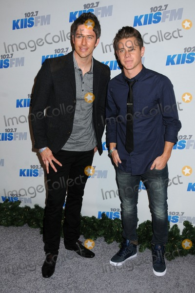 Arie Luyendyk Photo - 3 December 2012 - Los Angeles California - Arie Luyendyk Jef Holm KIIS FM 2012 Jingle Ball - Night 2 held at Nokia Theatre LA Live Photo Credit Byron PurvisAdMedia