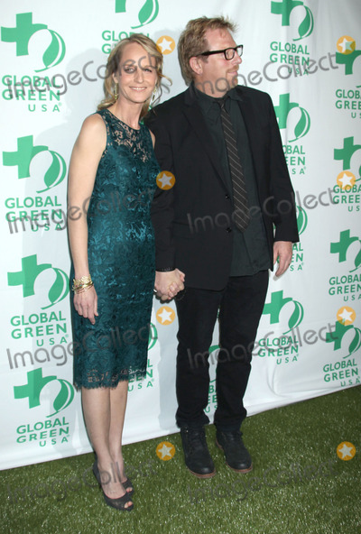 Matthew Carnahan Photo - 20 February 2013 - Hollywood California - Helen Hunt Matthew Carnahan 10th Annual Global Green USA Pre-Oscar Party held at Avalon Photo Credit Russ ElliotAdMedia