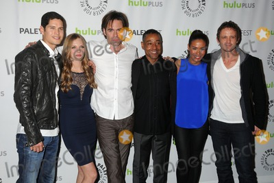Giancarlo Esposito Photo - 2 March 2013 - Beverly Hills California - JD Pardo Tracy Spiridakos Billy Burke Giancarlo Esposito Daniella Alonso David Lyons 30th Annual Paley Fest - Revolution held at the Saban Theatre Photo Credit Byron PurvisAdMedia