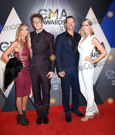 Tyler Hubbard Photo - 4 November 2015 - Nashville Tennessee - Brittney Marie Cole Brian Kelley Tyler Hubbard Hayley Stommel Florida Georgia Line 49th CMA Awards Country Musics Biggest Night held at Bridgestone Arena Photo Credit Laura FarrAdMedia