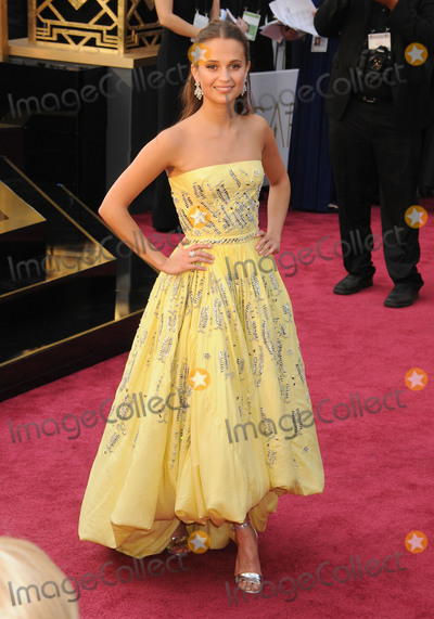 Alicia Vikander Photo - 28 February 2016 - Hollywood California - Alicia Vikander 88th Annual Academy Awards presented by the Academy of Motion Picture Arts and Sciences held at Hollywood  Highland Center Photo Credit Byron PurvisAdMedia