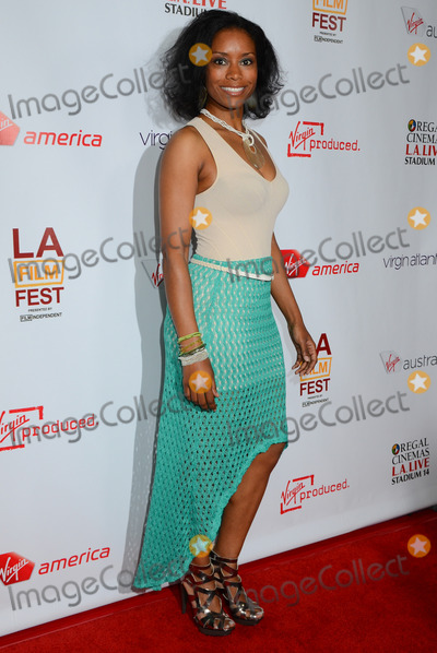 Tarina Pouncy Photo - 11 June 2012 - Los Angeles California - Tarina Pouncy Departure Date Premiere during the 2012 Los Angeles Film Festival is a short film from Virgin America Virgin Atlantic Virgin Australia and a Virgin Produced film at 35000 feet held at Regal Cinemas LA LIVE Photo Credit Birdie ThompsonAdMedia