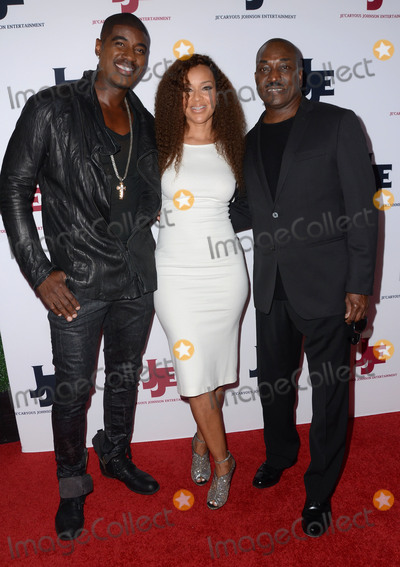 Clifton Powell Photo - 18 March 2016 - Los Angeles California - Terrell Carter LisaRaye McCoy Clifton Powell Arrivals for JeCaryous Johnsons Married But Single Los Angeles Opening held at Orpheum Theater Photo Credit Birdie ThompsonAdMedia
