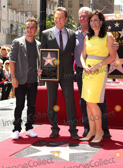 Frankie Muniz Photo - 16 July 2013 - Hollywood California - Frankie Muniz Bryan Cranston Jane Kaczmarek Bryan Cranston Honored With Star On The Hollywood Walk  Held On The Hollywood Walk Of Fame Photo Credit Russ ElliotAdMedia