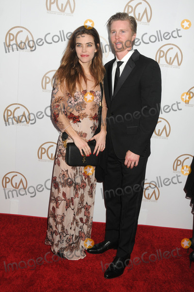 Thad Luckinbill Photo - 23 January 2016 - Century City California - Amelia Heinle Thad Luckinbill 27th Annual Producers Guild of America Awards held at the Hyatt Regency Century Plaza Hotel Photo Credit Byron PurvisAdMedia
