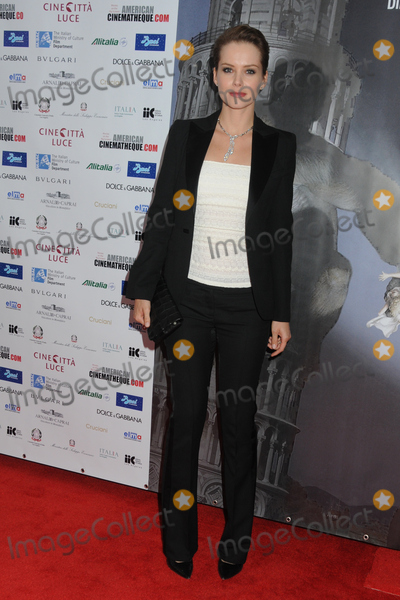 Andrea Osvart Photo - 11 November 2011 - Hollywood California - Andrea Osvart Cinema Italian Style 2011 Opening Night Gala Screening of Terraferma held at Graumans Egyptian Theatre Photo Credit Byron PurvisAdMedia