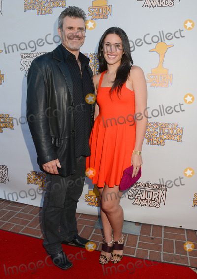 Alec Gillis Photo - 26 July 2012 - Burbank California - Alec Gillis and daughter 38th Annual Saturn Awards held at The Castaway Event Center Photo Credit Birdie ThompsonAdMedia