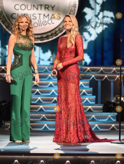 Jennifer Nettles Photo - 07 November 2015 - Nashville Tennessee - Jennifer Nettles Kelsea Ballerini 2015 CMA Country Christmas held at the Grand Ole Opry House Photo Credit Laura FarrAdMedia