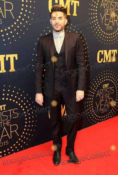 Adam Lambert Photo - 02 December 2015 - Nashville Tennessee - Adam Lambert 2015 CMT Artists of the Year held at Schermerhorn Symphony Center Photo Credit Bev MoserAdMedia