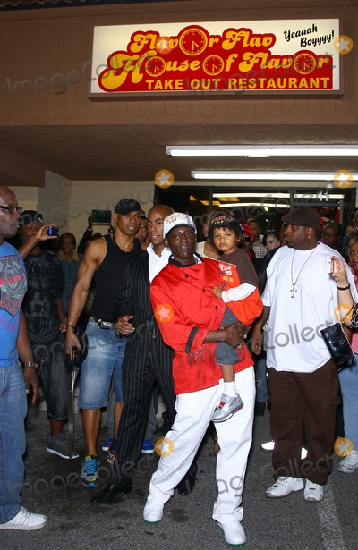 Flavor Flav Photo - 15 March 2012 - Las Vegas Nevada - Flavor Flav Grand Opening of Flavor Flavs House of Flavor Take Out Restaurant  Photo Credit MJTAdMedia
