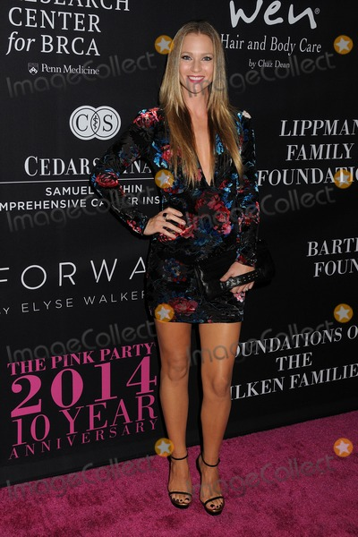 A J Cook Photo - 18 October 2014 - Santa Monica California - AJ Cook Elyse Walkers 10 Year Anniversary Pink Party held at Santa Monica Airport Hangar 8 Photo Credit Byron PurvisAdMedia