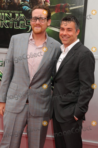Andre Nemec Photo - 3 August 2014 - Westwood California - Josh Appelbaum Andre Nemec Teenage Mutant Ninja Turtles Los Angeles Premiere held at the Regency Village Theatre Photo Credit Byron PurvisAdMedia