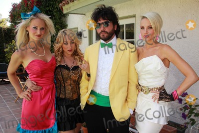 AJ Bowen Photo - Kamala Jones Jennifer Blanc-Biehn AJ Bowen Brianne Davison the set of Among Friends directed by Danielle Harris Private Location Los Angeles CA 07-30-11