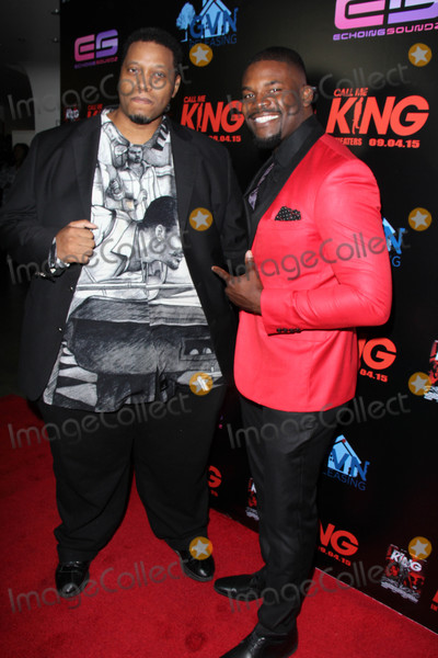 Amine Photo - RL Scott Amin Josephat the Call Me King Screening Downtown Independent Los Angeles CA 08-17-15