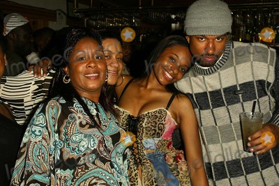 Kena Zakia Photo - Kena Zakia and friends at Kenas Birthday and Web Site Launch Party Miyagis West Hollywood CA 11-05-04
