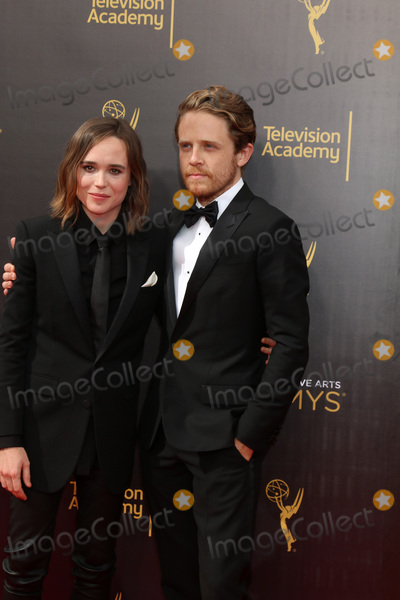 Ellen Page Photo - Ellen Page Ian Danielat the 2016 Primetime Creative Emmy Awards Microsoft Theater Los Angeles CA 09-11-16