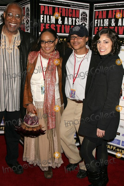 Ayuko Babu Photo - Ayuko Babu and Tamika Lamison with Clinton H Wallace and Ursula Taherianat the Pan African Film Festival Premiere of Layla Culver Plaza Theatre Culver City CA 02-13-09