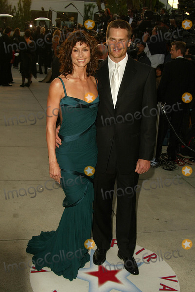 Bridget Moynahan Photo - Bridget Moynahan and Tom Brady at the 2005 Vanity Fair Oscar Party Mortons West Hollywood CA 02-28-05