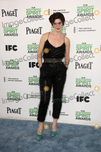 GABBY HOFFMAN Photo - Gabby Hoffmanat the 2014 Film Independent Spirit Awards Arrivals Santa Monica Beach Santa Monica CA 03-01-14