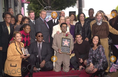Larry McCormick Photo - Larry McCormick receives his star on the walk of fame surrounded by friends and family at McCormicks Star on the Walk of Fame ceremony Hollywood Blvd CA 10-01-02
