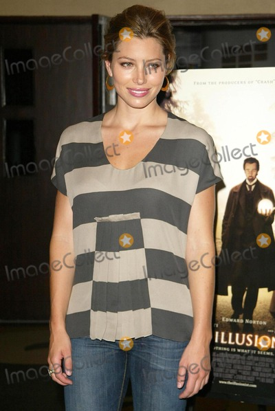 Jessica Biel Photo - Jessica Bielat the sneak preview of The Illusionist Aero Theatre Santa Monica CA 07-28-06