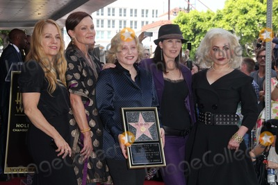 Kathy Valentine Photo - Charlotte Caffey Belinda Carlisle Gina Schock Kathy Valentine and Jane Wiedlinat the Go-Gos induction into the Hollywood Walk of Fame Hollywood CA 08-11-11
