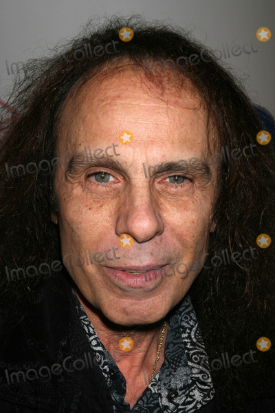 Ronnie Warner Ronnie James Dio at the Warner