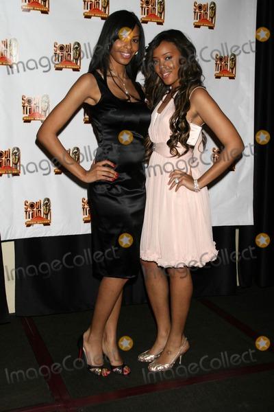 Vanessa Simmons Photo - Vanessa Simmons and Angela Simmonsin the Press Room at the 21st Annual Soul Train Music Awards Pasadena Civic Auditorium Pasadena CA 03-10-07