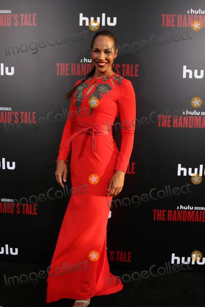 Amanda Brugel Photo - Amanda Brugelat the Premiere Of Hulus The Handmaids Tale Cinerama Dome Hollywood CA 04-25-17
