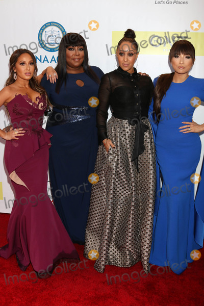 Tamera Mowry Photo - Adrienne Bailon Houghton Loni Love Tamera Mowry Jeannie Maiat the 48th NAACP Image Awards Arrivals Pasadena Conference Center Pasadena CA 02-11-17
