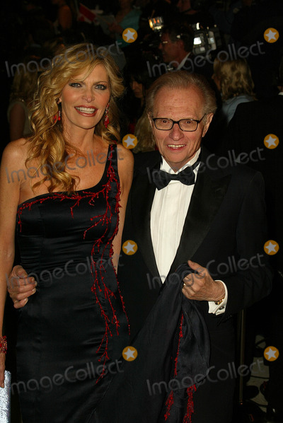 Larry King Photo - Shawn Southwick-King and Larry King at the 2005 Vanity Fair Oscar Party Mortons West Hollywood CA 02-28-05