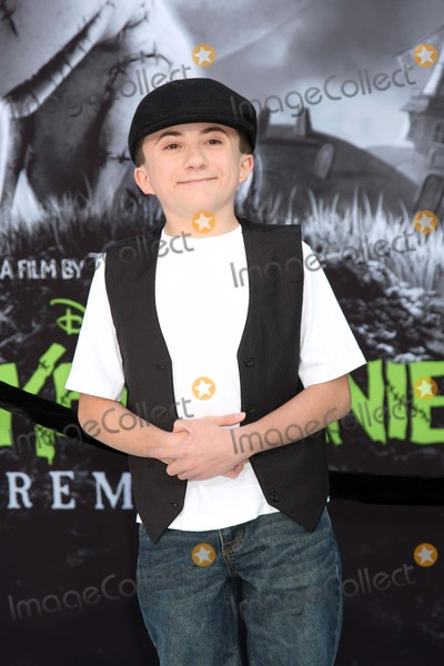 Atticus Shaffer Photo - Atticus Shafferat the Frankenweenie Los Angeles Premiere El Capitan Theater Hollywood CA 09-24-12
