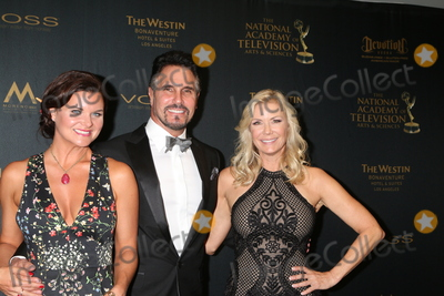 Don Diamont Photo - Heather Tom Don Diamont Katherine Kelly Langat the 43rd Daytime Emmy Creative Awards Press Room Westin Bonaventure Hotel Los Angeles CA 04-29-16