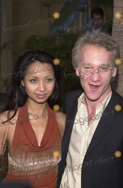 Angel Eyes Photo -  Bill Maher and Thi Lieu at the premiere of Warner Brothers Angel Eyes at the Egyptian Theater Hollywood 05-15-01