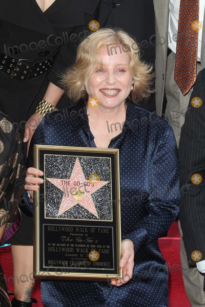 Gina Schock Photo - Gina Schockat the Go-Gos induction into the Hollywood Walk of Fame Hollywood CA 08-11-11