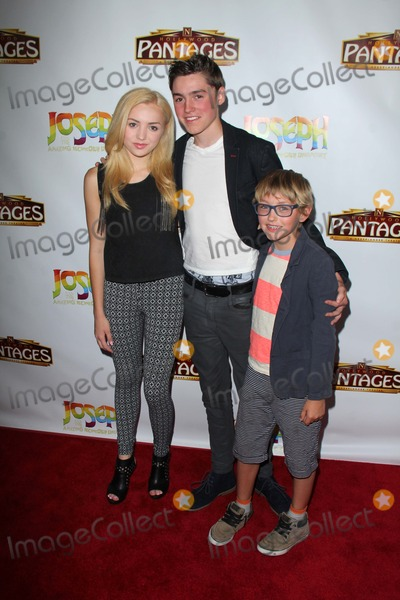 Peyton List Photo - Peyton List brothersat the Joseph And The Amazing Technicolor Dreamcoat Opening Pantages Hollywood CA 06-04-14