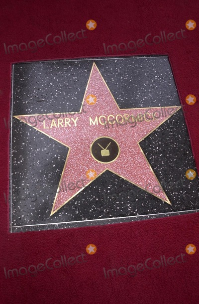 Larry McCormick Photo - Larry McCormicks star on the walk of fame at McCormicks Star on the Walk of Fame ceremony Hollywood Blvd CA 10-01-02