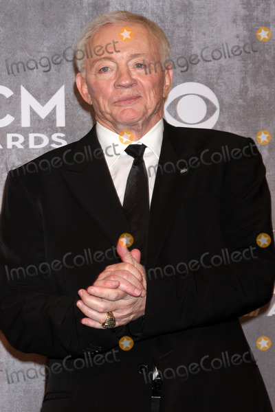 Jerry Jones Photo - Jerry Jonesat the 2014 Academy of Country Music Awards - Press Room MGM Grand Garden Arena Las Vegas NV 04-06-14