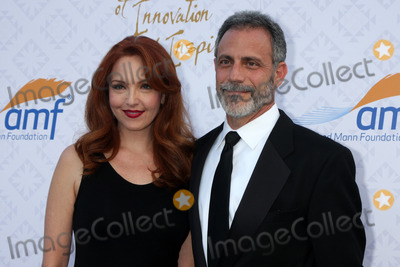 Alfred Mann Photo - Amy Yasbeck Michael Plonskerat the 10th Alfred Mann Foundation Gala Robinson-May Lot Beverly Hills CA 10-13-13