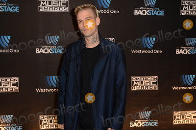 Aaron Carter Photo - Aaron Carterat Westwood One Backstage at the American Music Awards Day 2 LA Live Event Deck Los Angeles CA 11-19-16