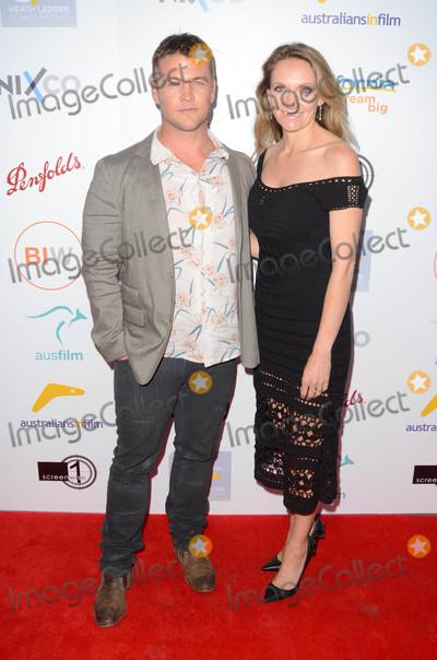 LUKE HEMSWORTH Photo - Luke Hemsworth Samantha Hemsworth at the 2016 Australians In Film Heath Ledger Scholarship Dinner Mr C Beverly Hills CA 06-01-16